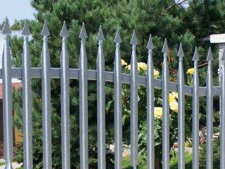 Sztachety ogrodzenia firmy SOLMET