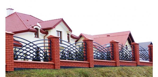 Segmenty ogrodzenia
